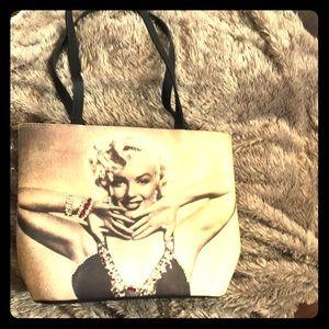 Handbags - Marilyn Monroe Tote bag with rhinestones